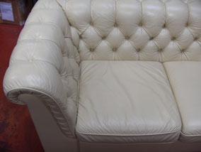Cream Chesterfield - After