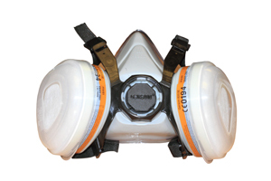 Dual Cartridge Respirator