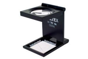 8 x Magnification Linen Tester