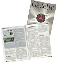 Mercedes Gazette Recommendation
