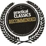 Recommended by Practical Classics Magazine