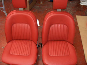 Rover Seats - after