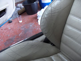 leather repair car interior photos furniture clinic. Black Bedroom Furniture Sets. Home Design Ideas
