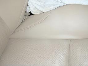 Leather Car Seat Burn Hole Repair 9