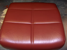 Colored Leather Seat
