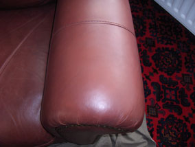 Sofa Arm - After