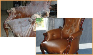 Antique Chair Before & After